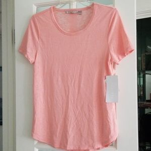 NWT Athleta Breezy Tee - Sustainable Fabric!